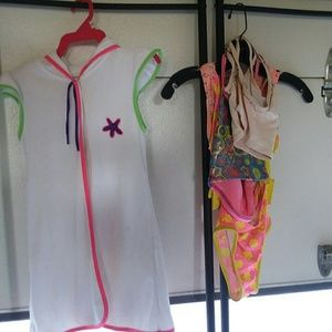 Other - Size 6/6x Girls lot of swimsuits/coverup